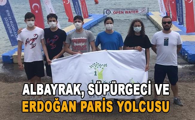 Albayrak, Süpürgeci ve Erdoğan Paris yolcusu