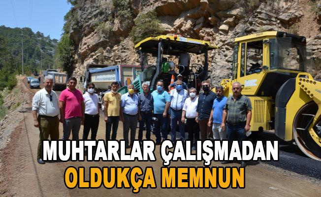 Demirtaş-Sapadere grup yolu asfaltlanıyor