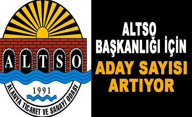 ALTSO Başkanlığı için aday sayısı artıyor