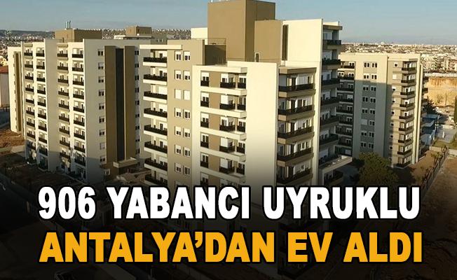 Antalya'da konut satışlarında geçen yılın aynı dönemine göre yüzde 23'lük düşüş