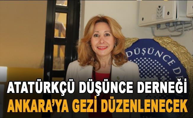 Atatürkçü Düşünce Derneği Alanya Ankara'ya gezi düzenleyecek