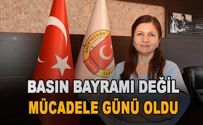 """""""Basın bayramı değil, mücadele günü oldu"""""""
