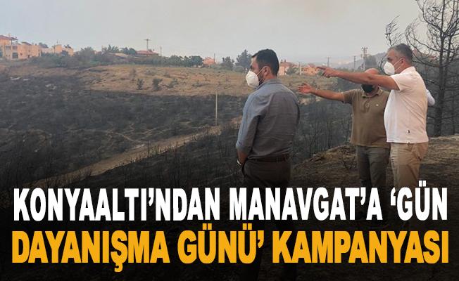 Konyaaltı'ndan Manavgat'a 'Gün dayanışma günü' kampanyası