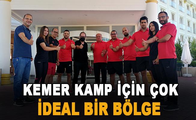 """Necati Topaloğlu  """"Kemer kamp için çok ideal bir bölge"""""""
