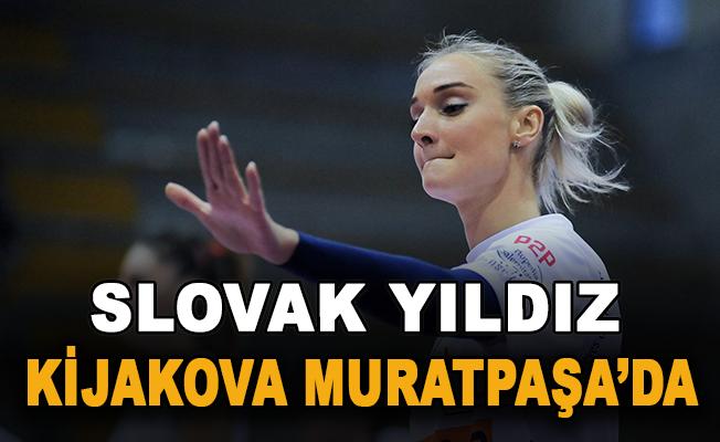 Slovak yıldız Kijakova Muratpaşa'da