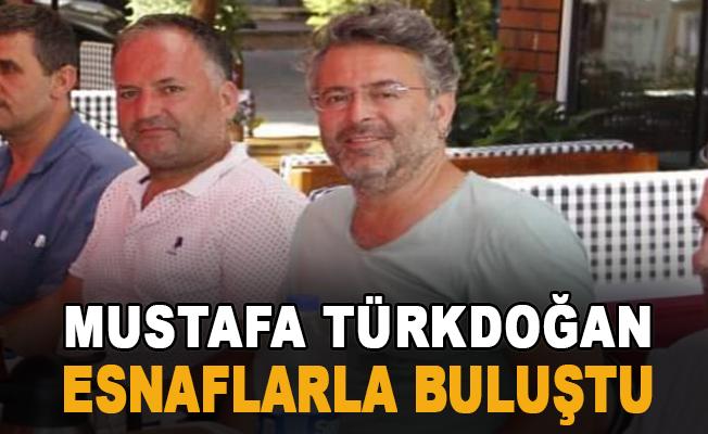 Türkdoğan Esnaflarla Buluştu