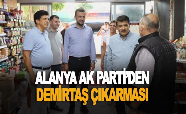 Alanya Ak Parti'den Demirtaş çıkarması