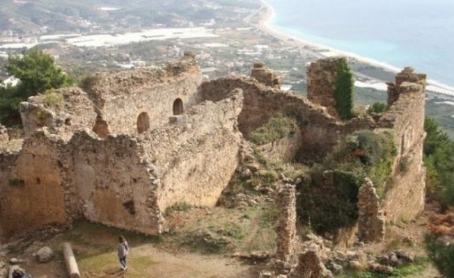 Alanya'da Syedra Antik Kenti'nde keşif
