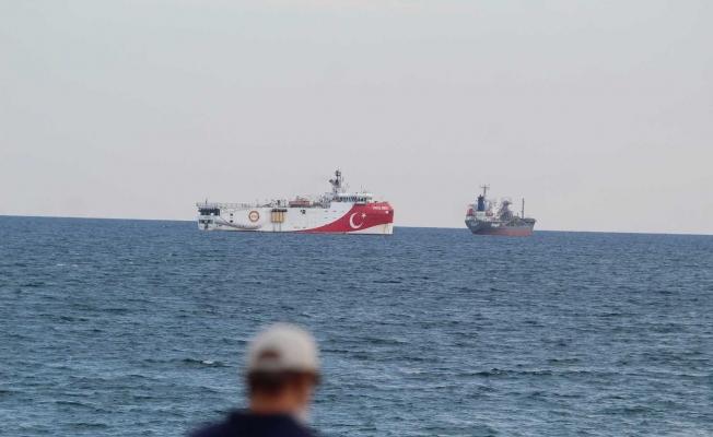 'Oruç Reis' Antalya'da