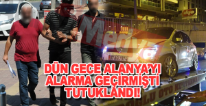 Alanya#039;da kapanla yakalandı tutuklandı