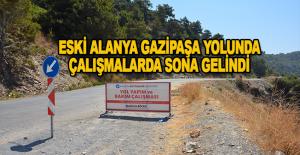 Alanya Gazipaşa sahil yolu yakında bitiyor