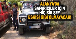 Alanya#039;da Jandarma Safaricileri...