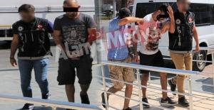 Alanya'da yakalanan 3 zehir taciri tutuklandı