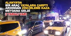 Atatürk Caddesinde Trafik Kazası