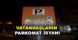 Mahmutlar#039;da Parkomat İsyanı