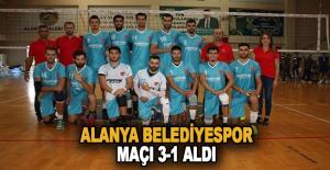 Alanya Belediyespor Maçı 3-1 aldı