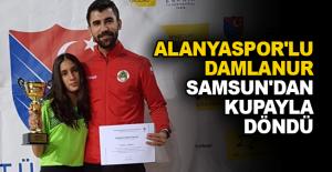 Alanyaspor'lu Damlanur Samsun'dan kupayla döndü