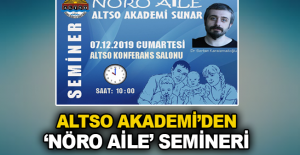 ALTSO Akademi'den 'Nöro Aile' semineri