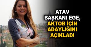 ATAV Başkanı Ege, AKTOB için adaylığını açıkladı