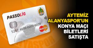 Aytemiz Alanyaspor'un Konya maçı biletleri satışta