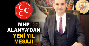 MHP Alanya'dan yeni yıl mesajı