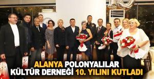Polonyalılar Kültür Derneği 10. Yılını Kutladı