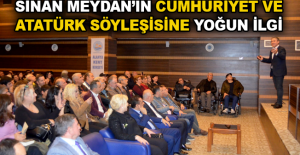 Sinan Meydan'ın Cumhuriyet ve Atatürk Söyleşisi'ne yoğun ilgi
