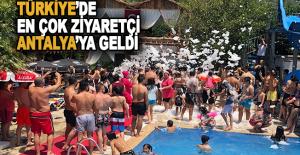 Türkiye'de en çok ziyaretçi ağırlayan il Antalya oldu