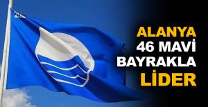 Alanya 46 mavi bayrakla lider