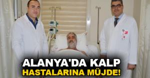 Alanya#039;da kalp hastalarına müjde!