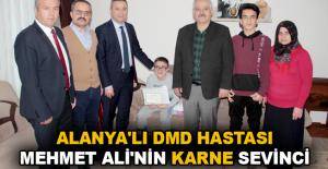 Alanya'lı DMD hastası Mehmet Ali'nin...