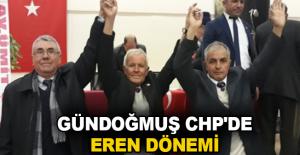 Gündoğmuş CHP'de Eren dönemi