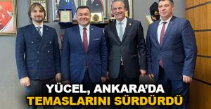 Yücel, Ankara'da temaslarını sürdürdü