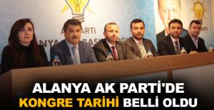 Alanya Ak Parti'de kongre tarihi belli oldu