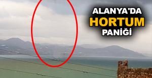 Alanya'da hortum paniği