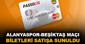 Alanyaspor-Beşiktaş maçı biletleri satışa sunuldu
