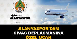 Alanyaspor'dan Sivas deplasmanına özel uçak