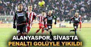 Alanyaspor, Sivas'ta penaltı golüyle...