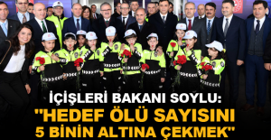 """İçişleri Bakanı Soylu: """"Hedef ölü sayısını 5 binin altına çekmek"""""""