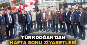 Türkdoğan'dan hafta sonu ziyaretleri