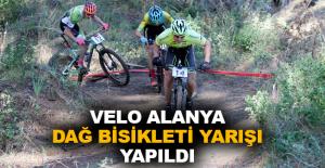 Velo Alanya Dağ Bisikleti Yarışı yapıldı
