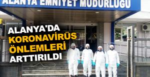 Alanya'da koronavirüs önlemleri arttırıldı