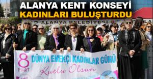 Alanya Kent Konseyi kadınları buluşturdu