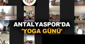 Antalyaspor'da 'Yoga...
