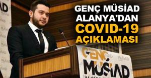 Genç MÜSİAD Alanya'dan Covid-19...