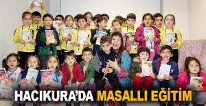 Hacıkura'da masallı eğitim