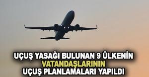 Uçuş yasağı için uçuş planlamaları yapıldı