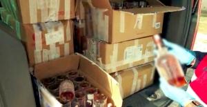 300 litre kaçak içki ele geçirildi