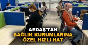 AEDAŞ'tan sağlık kurumlarına özel hızlı hat