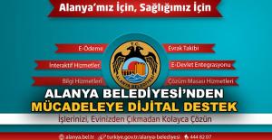 Alanya Belediyesi'nden mücadeleye dijital destek